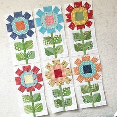 On my blog today for #farmgirlfridays ...another farm girl block mash…