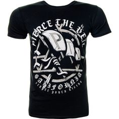 Pierce The Veil Youth Rising T Shirt (Black) (260 ZAR) ❤ liked on Polyvore featuring shirts and tops