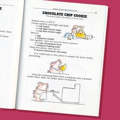May 15! Here's a recipe for you, in honor of Chocolate Chip Cookie Day. It's from my 1982 (!!!!!) book CHOCOLATE The Consuming Passion. Perhaps you didn't even know there WAS chocolate back in those olden days.