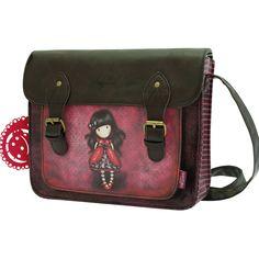 Gorjuss Satchel - Ladybird by Santoro Shopper Tote, Tote Purse, Satchel Bag, Leather Shoulder Bag, Shoulder Strap, Shoulder Bags, Santoro London, Cross Body Satchel, Weekend Travel Bag