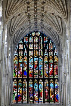 West Window Composite, Norwich Cathedral - main period of building 1096-1145 #Gothic UK | Flickr - Photo Sharing!