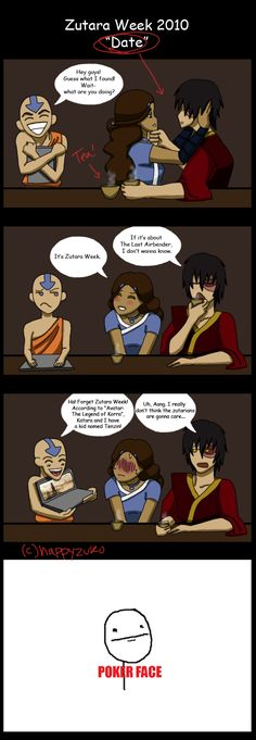 nope, probably not. i would have loved it if zuko went with katara, but she and aang are good together too.