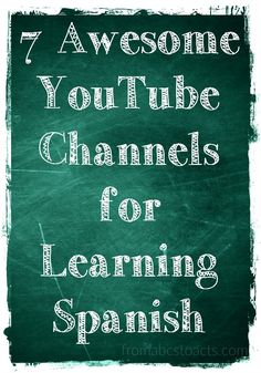 may not seem all that educational, but it houses some fantastic channels that can help you teach your children Spanish! Spanish Vocabulary, Spanish Language Learning, Learn A New Language, Teaching Spanish, Preschool Spanish, Vocabulary Games, Language Lessons, Teaching French, Spanish Teacher