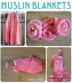 Make Aden + anis type blankets