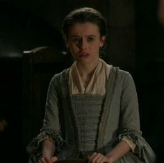"Mary Hawkins (Rosie Day) in Episode 211 ""Vengeance is Mine"" of Outlander Season Two on Starz"