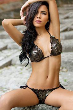Chica Rica Cabaret Scallopini Bikini