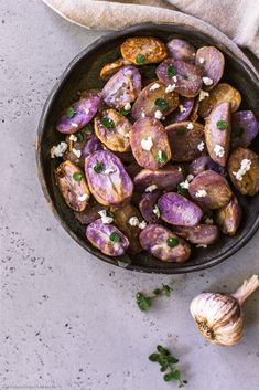 Roasted Garlic and Oregano Potatoes! Your go-to crispy potato side dish!