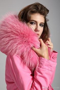 2016 Real Raccoon Hooded Fur Parka Women Fashion Biggest Bont Fur Parka Women Thicken Detachable Winter Coat