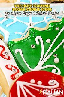 The Slow Roasted Italian - Printable Recipes: Best Tasting Sugar Cookie Icing
