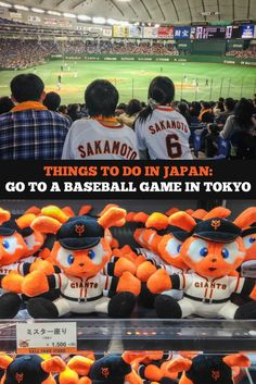 Baseball is BIG in Japan! Do as Japanese sports fans do and go to a baseball game in Tokyo. Here are photos from a Yomiuri Giants spring training game at the Tokyo Dome. It's a unique travel experience for any sports fan.