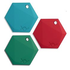 XY Beacons - Bluetooth Beacons to find your stuff!  I'm getting this for my keys! Really neat idea with a free app as well.