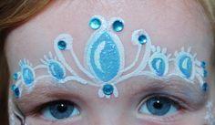 Frozen facepaint - Princess