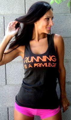 running is a privilege