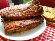 Ribs On Grill, Food 52, Ham, Diet Recipes, French Toast, Grilling, Pork, Food And Drink, Cooking