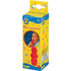 Pustefix Magic Bubble Bear Oral Motor Speech Therapy