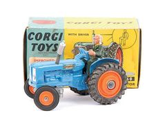Mettoy Corgi diecast No.60 Fordson Power Major Tractor 1964-71
