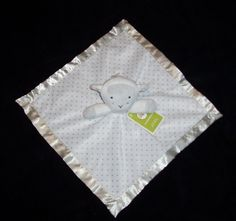 Circo Gray Elephant Giraffe Baby Blanket White Polka Dot Two By Two Target