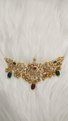 Antique Jewellery Designs, Gold Earrings Designs, Gold Jewellery Design, Silver Wedding Jewelry, Bridal Jewelry, Silver Jewelry, Silver Pendants, Silver Jewellery Indian