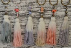 Degrade tassels / borlas degrade