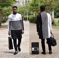 African Wear Styles For Men, African Shirts For Men, African Attire For Men, African Clothing For Men, Short African Dresses, African Print Dresses, African Outfits, Nigerian Men Fashion, African Print Fashion