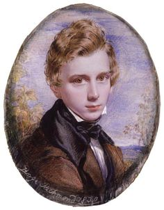 Self Portrait by George Richmond 1830 (@NPGLondon). Portraitist (d. #OTD 1896). Painted when member of The Ancients.