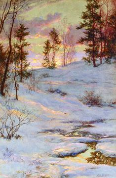 Winter Sunset - Walter Launt Palmer