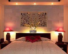chambre à coucher eclairage led romantique