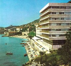 Yugoslavia 1970 | The Excelsior Hotel in Dubrovnik. All along the coast there are many ...