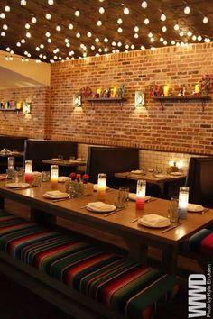 Rustic Restaurant Interior, Mexican Restaurant Design, Architecture Restaurant, Deco Restaurant, Restaurant Concept, Cafe Interior, Vintage Restaurant Design, Restaurant Specials, Restaurant Restaurant