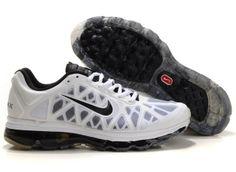 Nike Air Max 2011 Shoes White And Black Mens 15311