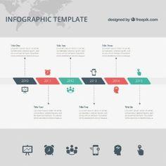 free infographic templates Timeline Vectors, Photos and PSD files Timeline Images, Timeline Design, Kids Timeline, Timeline Ideas, History Timeline, Timeline Infographic, Infographic Templates, Free Infographic, Presentation Design