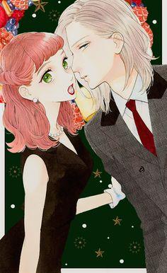 Manga Couple, Anime Love Couple, Cute Anime Couples, Anime Cupples, Anime Art, Otaku, Tsubaki Chou Lonely Planet, Hirunaka No Ryuusei, Anime Character Drawing