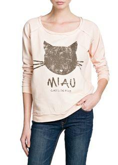 Miau Sweatshirt - mango.com