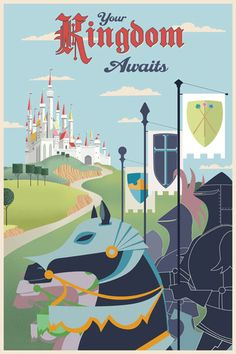 Persia Lou: Where to Find Vintage-Style Disney Travel Posters