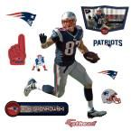 32 in. H x 24 in. W Rob Gronkowski - Jr Wall Mural, Multi