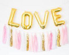 """Résultat de recherche d'images pour """"wedding balloons gold pink love"""""""