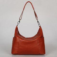 Leather hobo Jolie large brown---Adeleshop handmade Leather bag Messenger Diaper bag Shoulder bag Tote Handbag Hip bag Women
