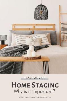 If you're getting ready to list your home for sale you might be wondering why staging matters and here's the answer! #homestaging #diy #staging #homedecor #interiordesign #howto #firstimpressions