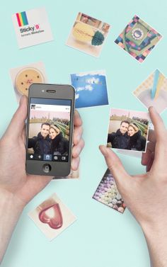 Website turns Insta piks info magnets ~ perfect for sharing friend moments for birthdays