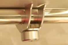 Mensola in acciaio Inox (particolare).