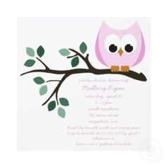 15 TOP Owl Baby Shower Invitations