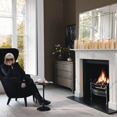 Barbara Hulanicki collaboration with Chesney's fireplaces | Homes and interiors news and trends