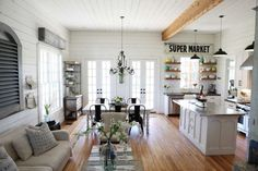 Another dreamy transformed farmhouse