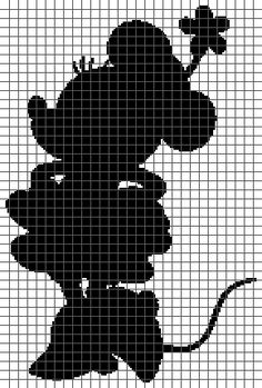 Minnie Mouse (Graph AND Row-by-Row Written Crochet Instructions ...