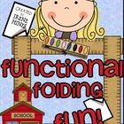 THIS UNIT IS NOW 734 PAGES WITH TABLE OF CONTENTS AND LINED INSERTS!  Check The Feedback On This BEST SELLER! ~ Functional Folding Fun!   Elementar...