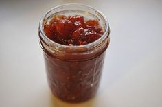 This delicious tomato jam is amazing on everything from turkey burgers to BLT's. Try it and you will thank me!