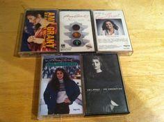5 Amy Grant cassettes pop