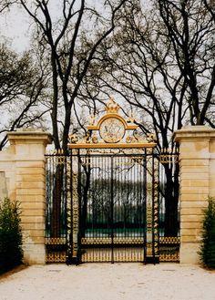 Palace Versailles, Potager du Roi gate