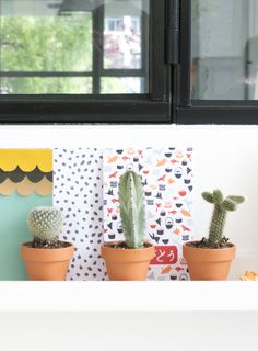 Idee Diy, Oui, Deco, Tree Branches, Cactus, Planter Pots, Art Pieces, Scrapbooking, How To Make