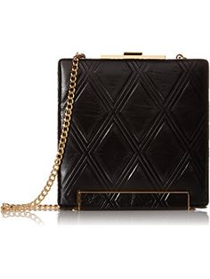Halston Heritage LG Box Minaudiere Evening Bag 04dc5f58470ea